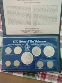 1970 Silver Coins of Bahamas East Stroudsburg, 18301