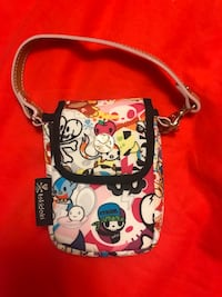 Tokidoki phone/ camera case brand new with leather strap Burnaby, V5H 1Z9