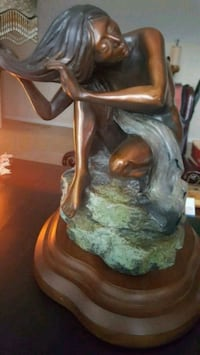 Bronze Sculpture by Susan Kleiwart - Serena