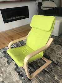 Green Poang Chair kids IKEA  St Albert, T8N 5L5