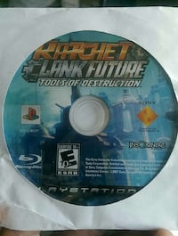 Ratchet and Clank Future tools of Destruction PS3 Hampton, 23663