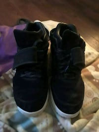 pair of black high-top sneakers Indianapolis, 46219
