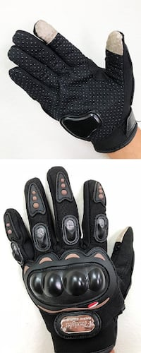 New $8 per pair Motorcycle Screen Touch Anti Slide Full Finger Gloves (3 Sizes) South El Monte