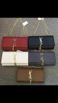five assorted color of YSL wallets Birmingham, B27 6QH