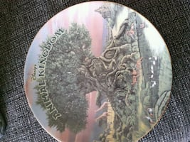 DISNEY'S Animal Kingdom collector plate