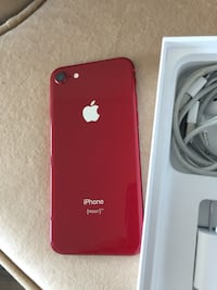 Red unlocked iPhone 8 64gb Mississauga, L5B