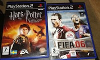 fifa 06 ps 2 spel fallet; harry potter PS2 spel fall Göteborg, 418 70