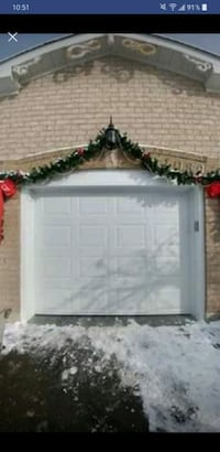 Insulated 8x7 garage door now only 675  Mississauga, L4Z 1W7