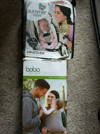 Boba wrap and summer infant insert  Upper Marlboro, 20772