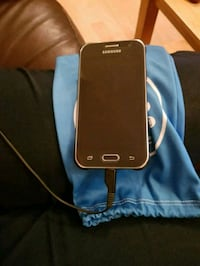 black Samsung Galaxy smartphone with case Leicester, LE5 1UF