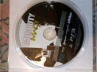 Call of duty MW3 PS3 game disc Kitchener, N2G 2S3