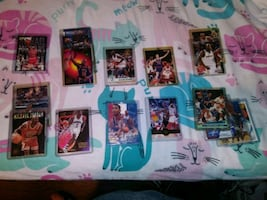 Lot of assorted sports trading cards
