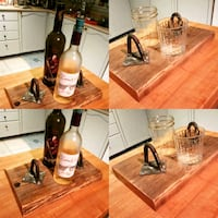 Reclaimed Barnboard Bottle and Cup Holders  Whitby, L1R 1Z2