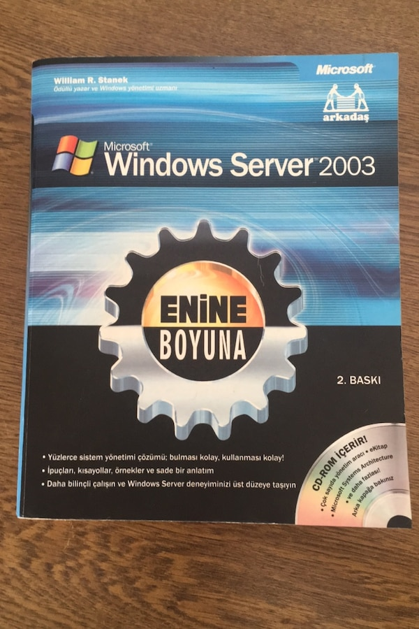 Windows Server 2003 - Enine Boyuna 56b63548-ea28-446f-841b-65d03ab3a4c6
