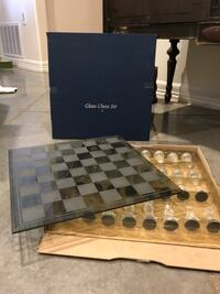 Chess Set made of glass West Lake Hills, 78746