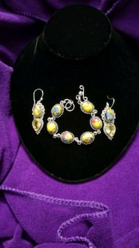 YELLOW CALISILICA AND YELLOW CITRINE SET. West Valley City, 84120