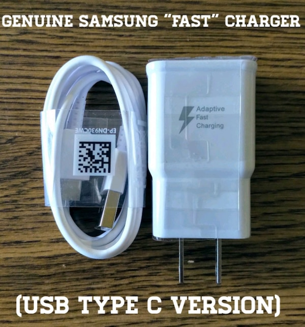 """Genuine Samsung USB Type C """"Fast"""" Charger 9cc72a88-504d-4d36-8108-4b66cb17aaad"""