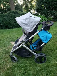 baby's gray and blue stroller Ashburn, 20147