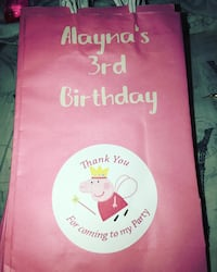 Personalized party bags Vallejo, 94591