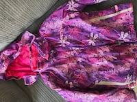 Pink and purple floral winter jacket King, L0G 1T0