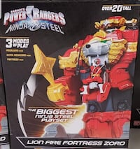 Power rangers Ninja steel Fortress Winchester