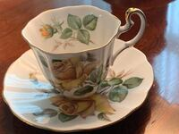 Floral Bavarian China tea cups.  Hand painted  Fairfax, 22030