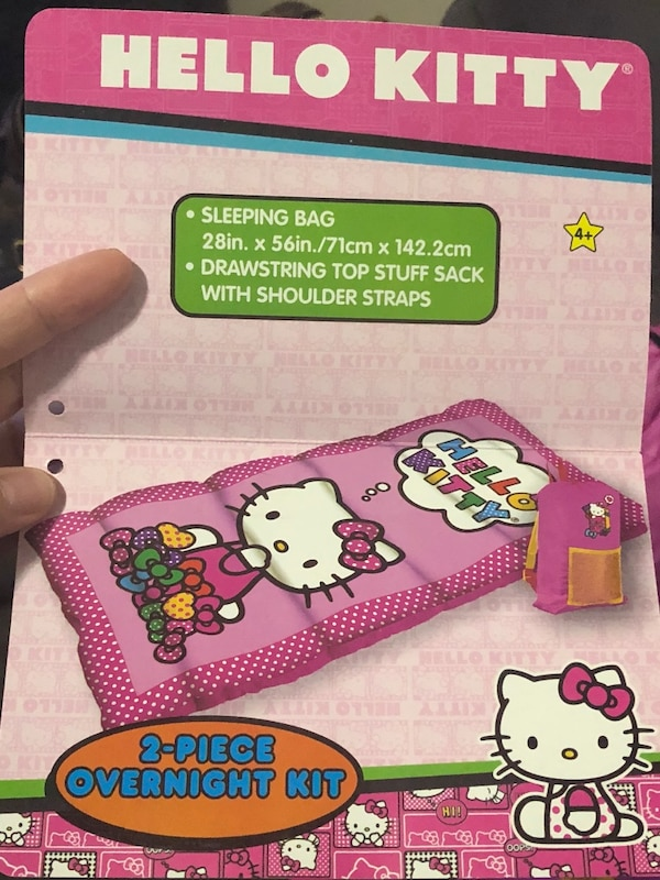 03a3b7987ea2 Used NWT hello kitty sleeping bag for sale in Benicia - letgo