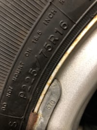 Jeep tire. See size on photo.  New