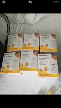 Medela pump and save bags, $5/unit, $3/unit if you buy all Washington, 20002