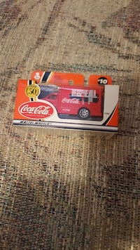 Coca-Cola die-cast toy car packge Calgary, T2Z 3Y5
