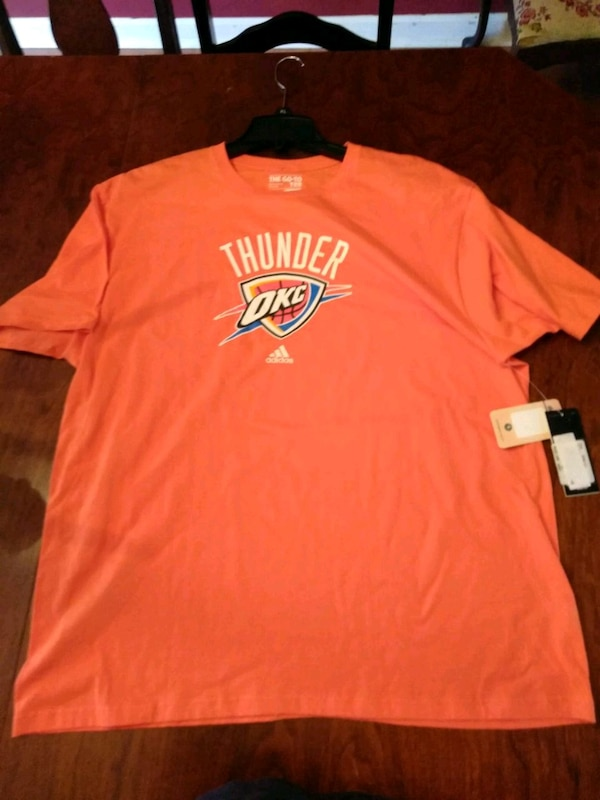 3707b8ddac96 Used Okc thunder size 2x new t shirt for sale in Clarksville - letgo