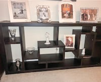 Black Faux wood book shelf  Woodridge, 60517