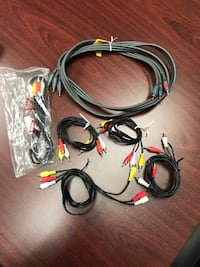 Assorted TV Cables & Accessories St Albert