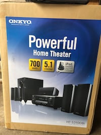 Onkyo - HT-S3100(B) 700W 5.1 Channel home theatre surround system Vaughan, L4H 2Z2
