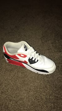 Air max 90 red white black colorway
