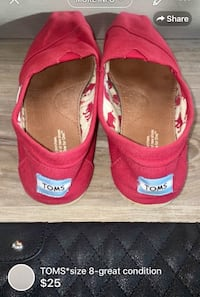 TOMS*size 8-great condition