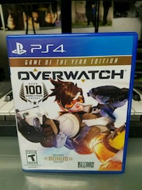 Overwatch Origins Edition PS4 game case