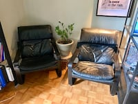 Leather IKEA Chairs Calgary, T2H 1M8