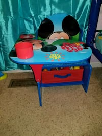 Mickey Mouse Desk with Storage