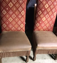 Antique western chairs