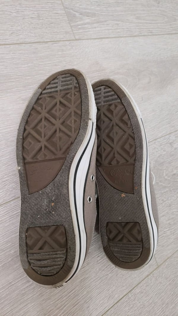New price! Gray Converse All Star Low Top Sneakers 19857138-f943-4daf-b9dc-92a108a0c488