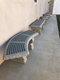 Cement patio table & benches Lake Forest, 92630