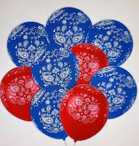 80 PC's bandana balloons 12 inches latex balloons for birthday .... Gaithersburg, 20878