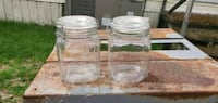 Glass kitchen containers