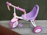 pink and purple Radio Flyer trike 2263 mi