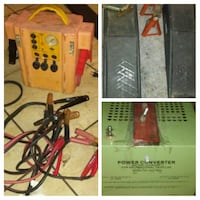 yellow jump starter and green power converter Concord, 94520