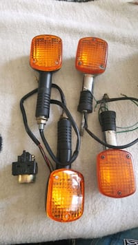 Signal lights for a Honda