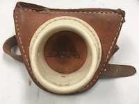 Sampo Leather Rod Butt Rest with Adjustable Hook and Loop Waist Boca Raton