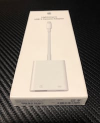 GENUINE APPLE Lightning to USB 3 Camera Reader Data Sync Cable Adapter Las Vegas, 89178