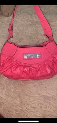 soft leather guess bag